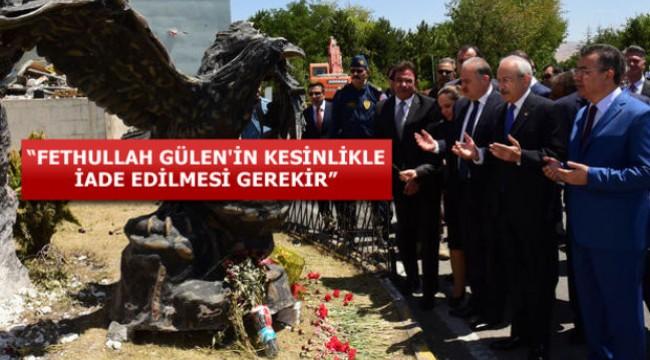 Ve Kılıçdaroğlu ilk kez FETÖ dedi