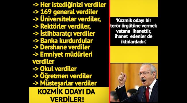 Kemal Kılıçdaroğlu'ndan ,AK Parti ve Fethullah Gülen'e tepki