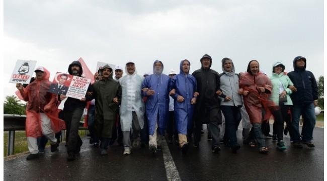 Adalet Yürüyüşü'nün bilinmeyen fotoğrafları