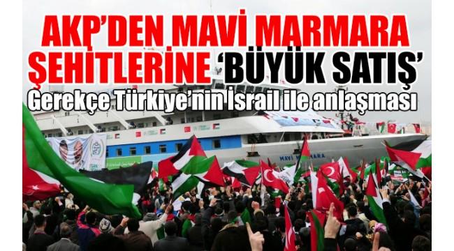 Mavi Marmara'da 10 Türk vatandaşını şehit eden İsrailli askerlere takipsizlik