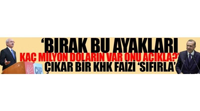 CHP lideri Rasim Ozan'a sert çıktı, Erdoğan'a rest çekti
