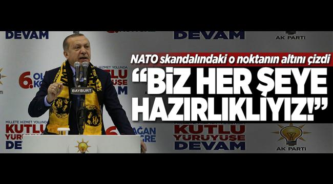 Erdoğan'dan NATO çıkışı: Hedef ben değilim Türkiye