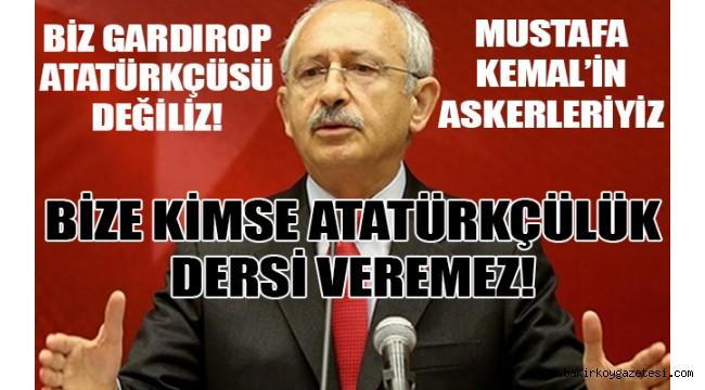 Kılıçdaroğlu uyardı: Onlar CHP'li olamazlar