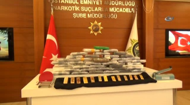 Bakırköy'de yakalandı,Uyuşturucu Ticaretinde Bir İlk: Kokain-külçe Altın Takası