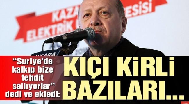 Cumhurbaşkanı Erdoğan: Ne olursanız olun tepenize ineceğiz!