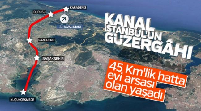 Kanal İstanbul Projesi'nin detayları