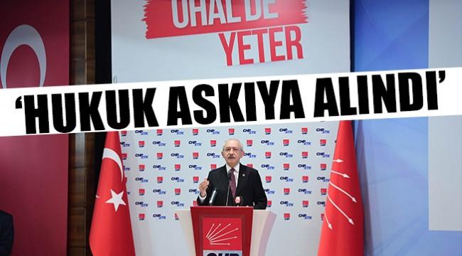 Kılıçdaroğlu: Yargı tümüyle iflas etmiştir