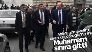 Afrin'e girmeyelim diyen Kılıçdaroğlu'na inat Muharrem İnce Suriye sınırında