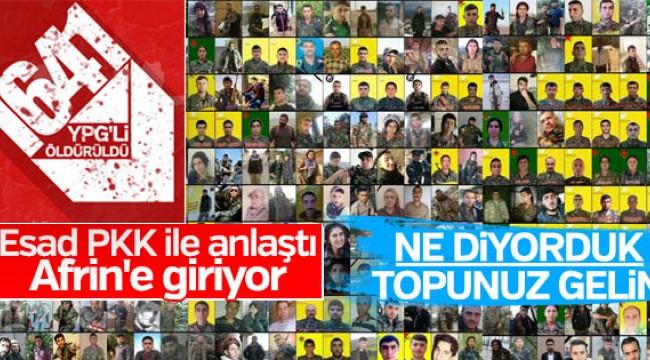 Esad YPG'ye destek verecek