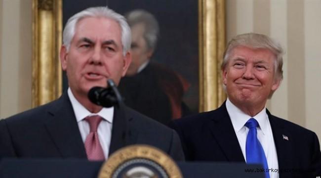 Tillerson'u görevden aldı yerine CIA Başkanı Pompeo geldi