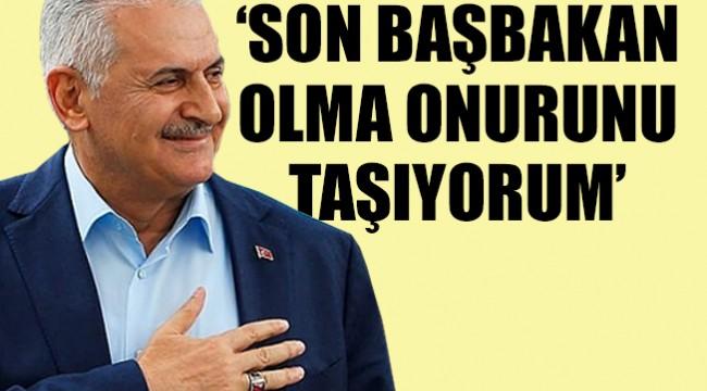 Başbakan Yıldırım Meclis'te helallik istedi