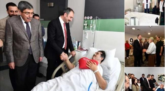Adalet Bakanı devlet hastanesi diye bakın nereye gitti