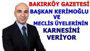 BAŞKAN DR. KERİMOĞLU'NA KARNE VERDİK
