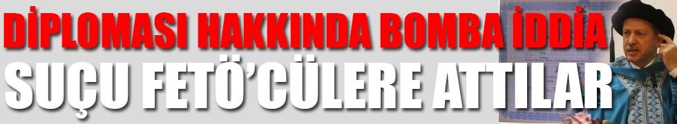 Cemil Barlas'tan Erdoğan'ın diploması hakkında bomba iddia