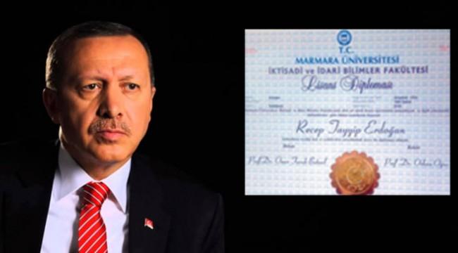 Erdoğan'ın diploması tartışması AİHM'ne taşındı