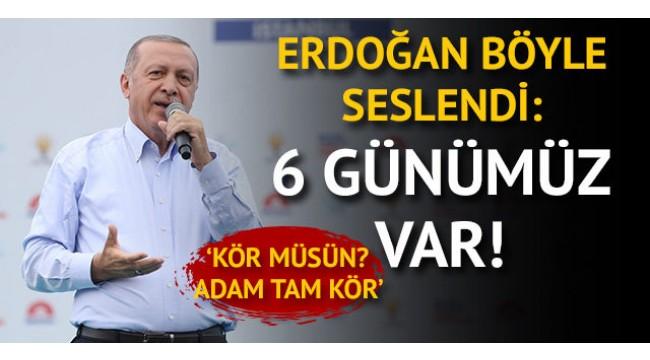 Erdoğan'dan İnce'ye: Haddini bil!