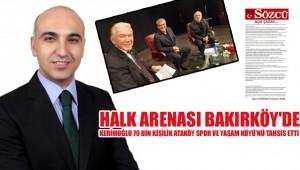 Halk Arenası Bakırköy'de