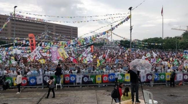 Bakırköy'de HDP 'nin mitingi yapıldı: 11 gözaltı