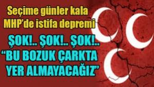 MHP'de toplu istifa: Bu bozuk çarkta yer almayacağız