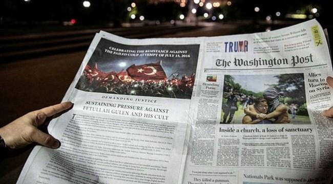 ABD basınında tam sayfa FETÖ uyarısı