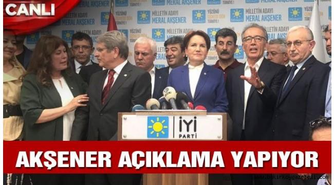 İYİ Parti'de sıcak saatler: Meral Akşener kararını verdi