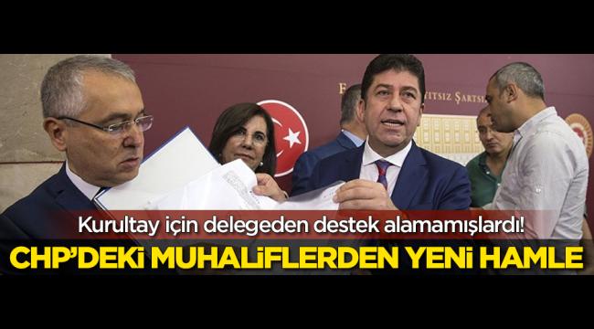 CHP'deki muhalif delegelere kritik mesaj