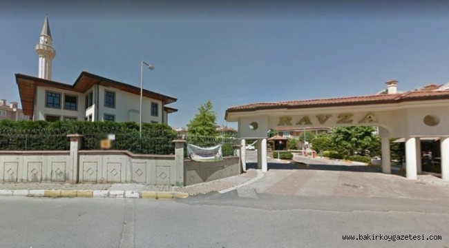 Davutoğlu'nun villasının bulunduğu sitenin imar tabeli reddedildi