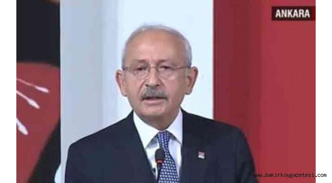 Kılıçdaroğlu: Ekonomik krizin başlangıcındayız, sonunda değiliz