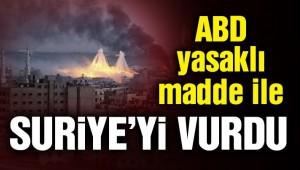 SON DAKİKA: Rusya, ABD'nin fosfor bombasıyla Suriye'ye saldırdığını duyurdu