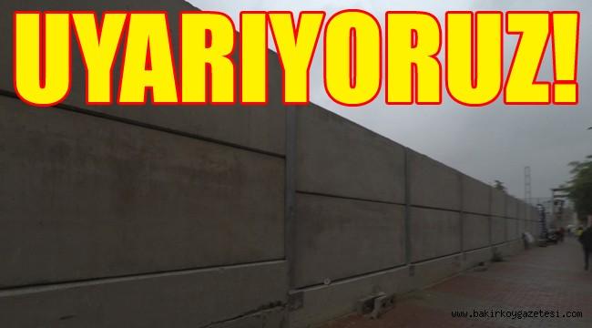 Bakırköy'de duvar kabusu