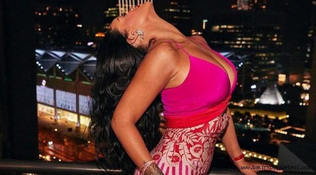 Rihanna verdiği pozlarla Bella Hadid'e haddini bildirdi
