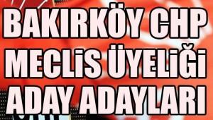 BAKIRKÖY'DE BELEDİYE MECLİS ÜYELİĞİ SAVAŞI BAŞLIYOR!!!