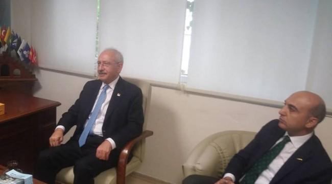 BAKIRKÖY'DE CHP GENEL BAŞKANI  ZİYARETLERİ