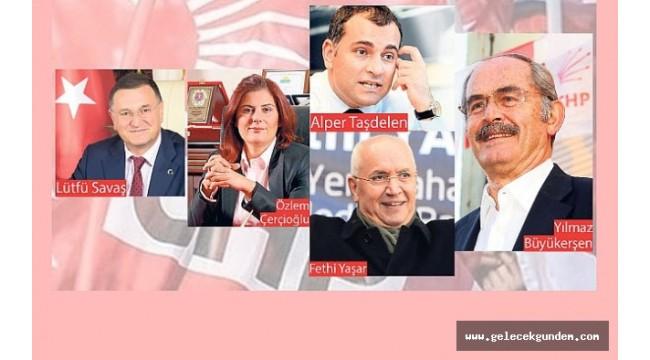 CHP'de açıklanacak başkanlar