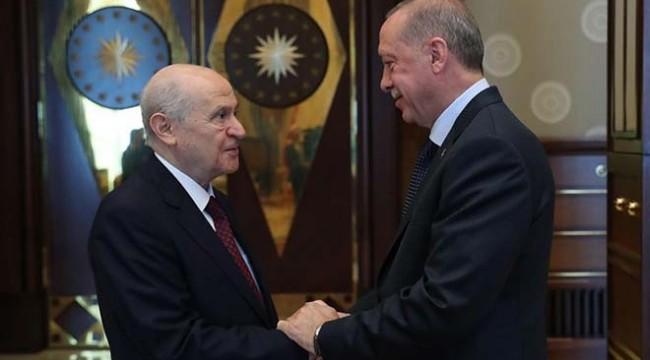 Erdoğan, Bahçeli'yle 'lokal ittifak'ı konuşacak