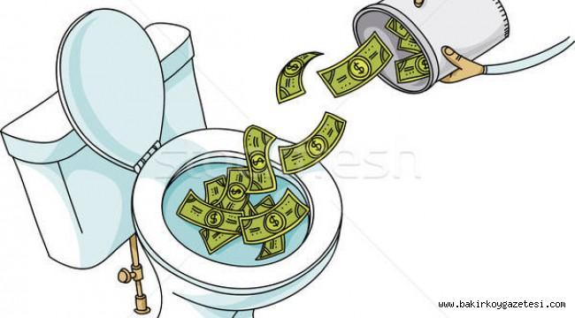Florya'da tuvaletleri enflasyon vurdu! Evden çıkarken hazırlıklı çıkın