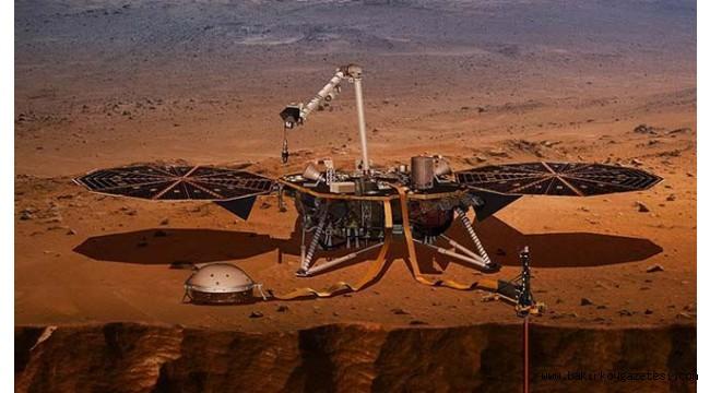 Tarihi anlar... Mars'a iniş yaptı