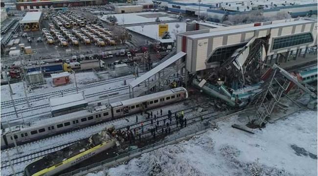 Ankara'da hızlı tren kazası: 7 kişi öldü, 3'ü ağır 46 kişi yaralandı