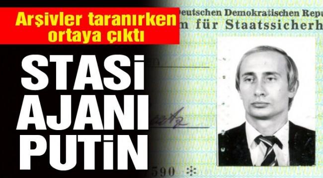 Putin'in Ajan Stasi kimliği ortaya çıktı