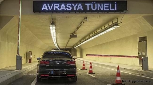Avrasya Tüneli'ne rekor zam: Tek yön 32 TL'ye çıktı