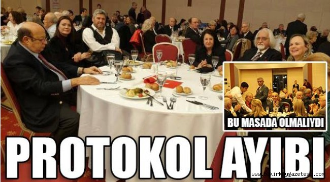 BAKIRKÖY'DE PROTOKOL AYIBI