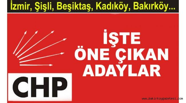 CHP İstanbul'da 6 başkanla yeniden devam gibi