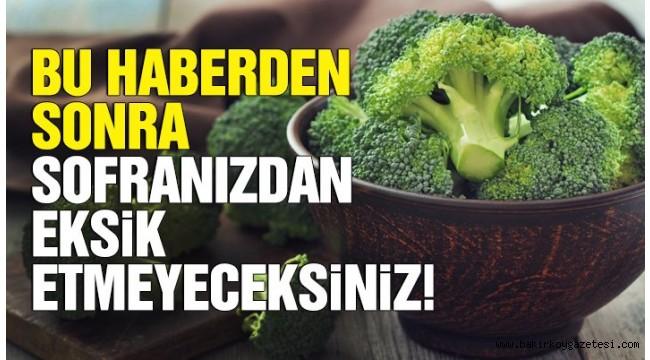 Düzenli brokoli tüketiminin faydaları!
