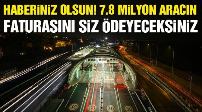 Vatandaş 7.8 milyon aracın faturasını cebinden ödeyecek