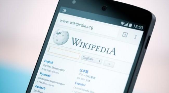 Wikipedia giriş yönetimi burada!
