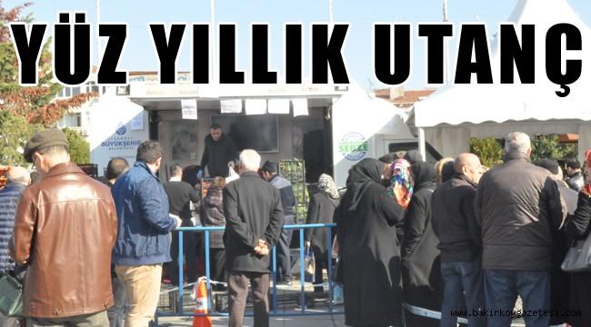 Bakırköy'de Tanzim satışları başladı...