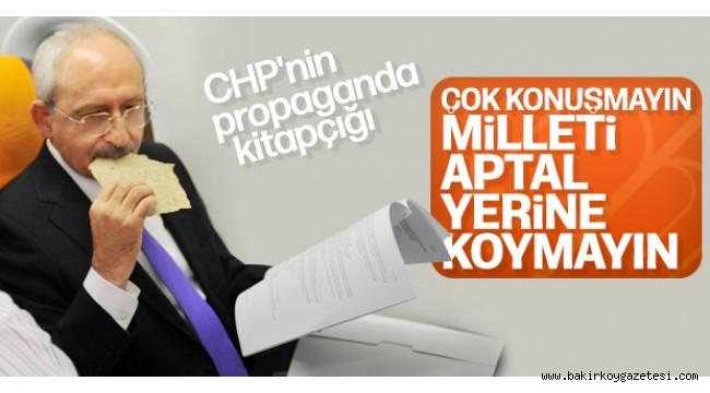 CHP, adayları için kitap hazırladı: Dolduruşa gelmeyin, hakaret etmeyin, laf sokmayın