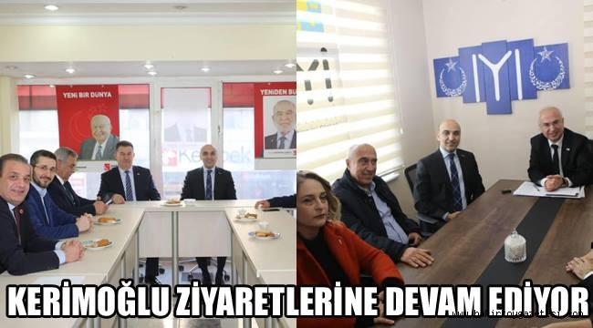 Dr. Kerimoğlu ziyaretlerine devam ediyor!