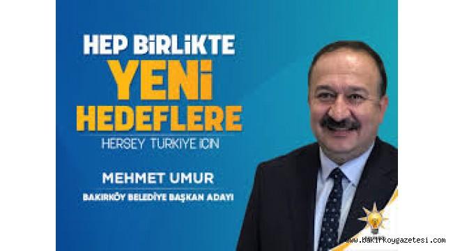 Bakırköy Belediye Başkan Adayı Umur Projelerini Açıklayacak