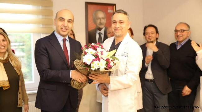 Doktor Başkandan Tıp Bayramı Kutlaması
